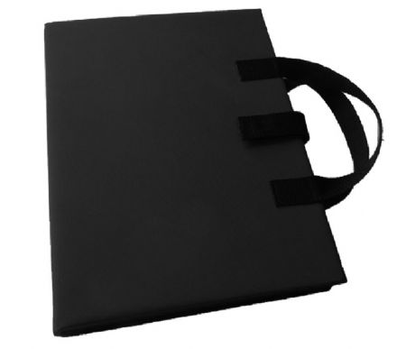 A3 Communication Book: Fabric Pages - Black